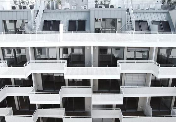 Mehrere einzelne Wohneinheiten in einem Wohnhaus werden parifiziert