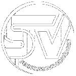 weißes Sachverständigen-Logo auf transparentem Hintergrund